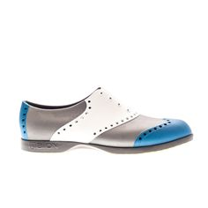 Wingtips / Blue, White & Silver