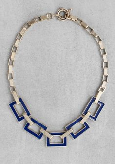 Chunky Enamel Necklace - & Other Stories