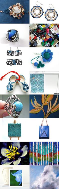 Blue Power! by Laura P. on Etsy--Pinned with TreasuryPin.com