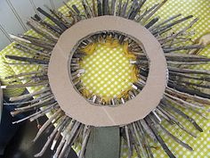 Yellow Mums: Sunshine Wreath