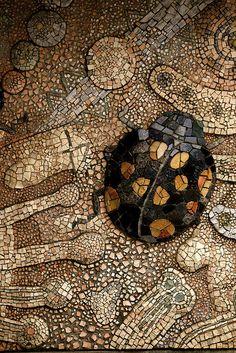 Mosaic at Tama zoo, Japan,   photo by shimobros, via Flickr