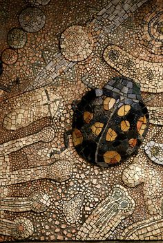Beetle Mosaic from the Tama zoo :: photo by Shimobros