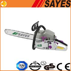 Single Cylinder Low Vibration Gas cheap Chainsaw for sale $58~$80