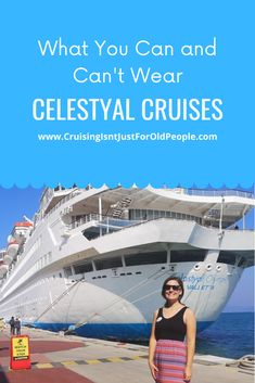 If you are taking a cruise with Celestyal Cruises you may be wondering what the dress code onboard is. I took my first cruise with… Top Cruise, Cruise Dress, Ocean Cruise, Packing For A Cruise, Best Cruise, Cruise Port, Cruise Tips, Cruise Travel, Disney Cruise Line