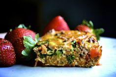 Make ahead breakfast casserole (paleo, gluten free, grain free, dairy free)