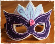Super Princess Mask PDF Pattern. $3.00, via Etsy.