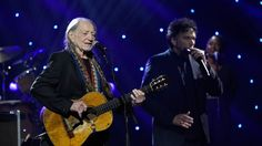 """See Willie Nelson and Vince Gill remake """"Heartaches By the Number"""" for Nelson's…"""