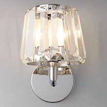 Buy John Lewis Charm Crystal Bathroom Wall Light Online at johnlewis.com