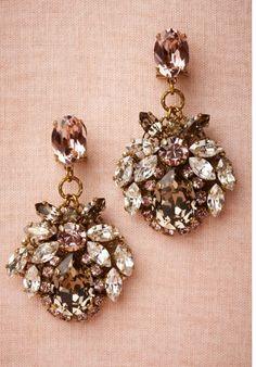 Rosewater Drops Earrings #jewelry