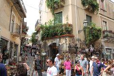 Taormina street life