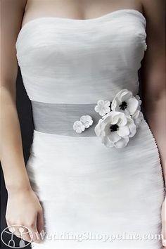 Sara Gabriel Bridal Belts and Sashes Madeline Sash
