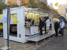 Mobile Bars and Containerised Screens by Events Infrastructure, Large Televisions