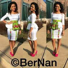 Valentine's Day Special : Jaw Dropping And Eye Popping Ankara Styles - Wedding Digest Naija African Dresses For Women, African Print Dresses, African Attire, African Wear, African Fashion Dresses, African Women, African Prints, Ghanaian Fashion, African Clothes