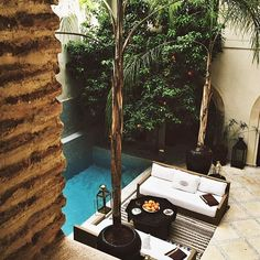Outdoor Rooms | Sitting area by pool