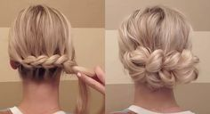 easy hair styles for prom hair can go up here is an updo technique i 3821