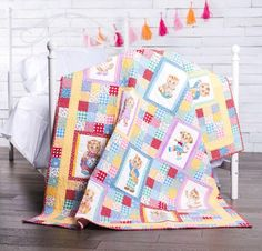 Robert Kaufman's recipe for cute? Just add critters! The Robert Kaufman Cuddly Quilt features fun animal blocks separated by whimsical blenders — and it's nothing short of adorable. To make your own, grab the kit: You'll receive a downloadable pattern and enough fabric for your top.