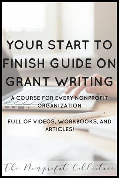 Learn how to write grants through this Grant Writing Master Course! You& learn everything you need to know to get started grant writing for nonprofits.