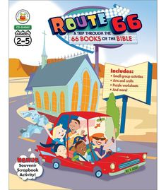 Route 66: A Trip through the 66 Books of the Bible Resource Book