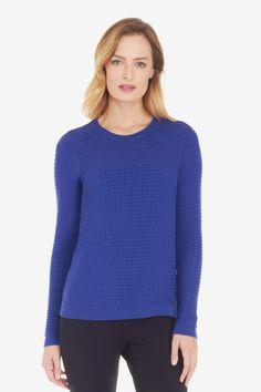 Noella Mesh Sweater
