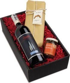 1 Flasche Chianti 'Renzo M.' DOCG, Jahrgang 2014, Spaghetti di Semola All' Antica' und Pesto Rosso. https://www.plus.de/p-1676637000?RefID=SOC_pn