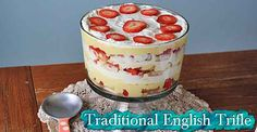 Traditional English Trifle - Lil Moo Creations