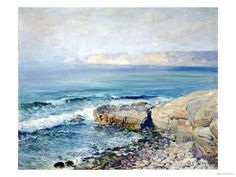 Incoming Fog, la Jolla Giclee Print by Guy Rose - AllPosters.ca