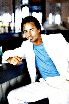 Don Johnson as Sonny Crockett in Miami Vice