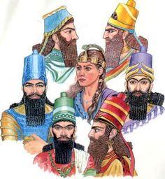 Assyrian clothing: