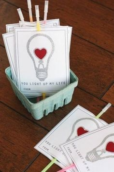 35 Easy DIY Valentine's Day Cards - Homemade Valentine's Day Card Ideas