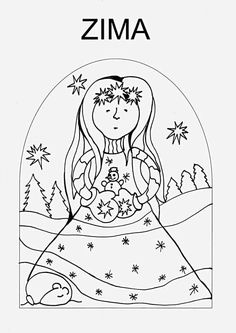 Winter Activities For Kids, Preschool Activities, Crafts For Kids, Arts And Crafts, Weather For Kids, Sequencing Pictures, Winter Time, Embroidery Patterns, Coloring Pages
