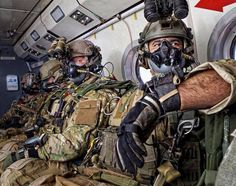 Post with 0 votes and 193 views. US Army Special Forces personnel on the Military Free-Fall Advanced Tactical Infiltration Course (ATIC) x Military Gear, Military Police, Military Personnel, Army Medic, Military Humor, Military Equipment, Usmc, Special Operations Command, Military Special Forces