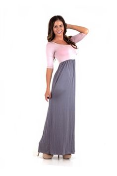 Pink And Gray Dress – tart.tk