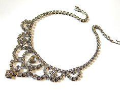 Vintage Bridal Necklace  Regency Style by MURPHYSTREASURES2, $36.00