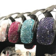 Stunning women's Crystal Sparkle Earmuffs and Glasses - 25 colors, passive or electronic. Shop this and more women's shooting gear at Gun Goddess! Women's Shooting, Range Bag, Ear Protection, Camo Colors, Cup Design, Stunning Women, Concealed Carry, Hand Guns, Sparkle
