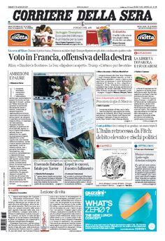 Corriere della Sera // 22/04/2017 //