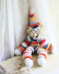 Amigurumi Angel Crochet Pattern : 1000+ images about crocheted circles clowns on Pinterest ...