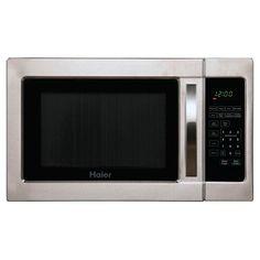 Haier 1.0 Cu. Ft. 1000 Watt Microwave Oven - Silver HMC1035SESS