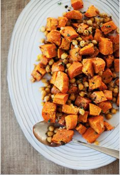Spiced Sweet Potatoes and Chickpeas (Credit: Sara Morris, Sprouted Kitchen)