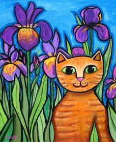 pinturas de gatos - Buscar con Google