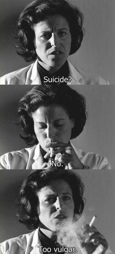 suicide? too vulgar?