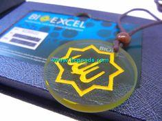 Quantum Pendant - Islamic Religious Quantum Pendant - Bioexcel Religious Scalar Energy Allah Pendant - Yellow