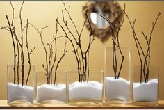 Glass, sugar, and twigs... So easy