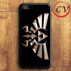 Black Gold Triforce Zelda iPhone 6 Plus | iPhone 6S Plus Case