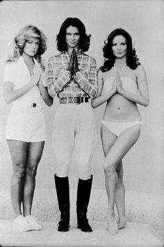 Farrah Fawcett, Kate Jackson, and Jaclyn Smith: Feathering may go in and out of fashion, but it never stops being fun.
