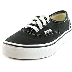 Vans Kids Authentic Black/true White Skate Shoe *** Be sure to check out this awesome product.