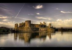 Caerphilly Castle - HDRi - Pano by Wayman.deviantart.com on @deviantART