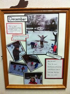 Framed documentation ≈≈ http://www.pinterest.com/kinderooacademy/documentation/