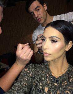 Here's how to get Kim Kardashian's wedding eyebrows
