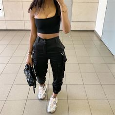 really cute outfits Boujee Outfits, Chill Outfits, Dope Outfits, Cute Casual Outfits, Summer Outfits, Fashion Outfits, Instagram Outfits, Mode Instagram, Streetwear Mode