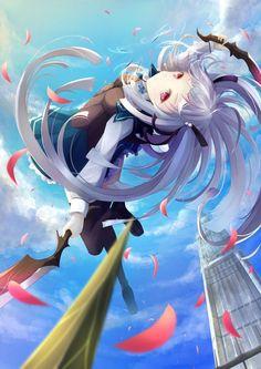 absolute duo Part 1 - 5 - Anime Image 2014 Anime, 5 Anime, Kawaii Anime, Anime Art, Light Novel, Absolute Duo, Anime School Girl, Anime Girls, Anime Group
